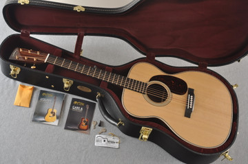 Martin 000-28 Modern Deluxe Acoustic Guitar #2276555 - Case