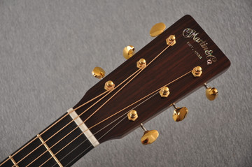 Martin D-18 Modern Deluxe Acoustic Guitar #2266078 - Headstock