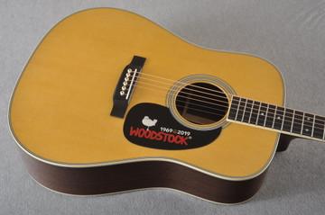 Martin D-35 Woodstock 50th Anniversary Acoustic Guitar #2267961 - Top