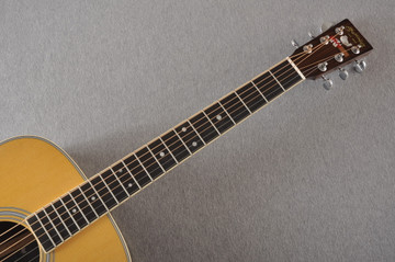 Martin D-35 Woodstock 50th Anniversary Acoustic Guitar #2267961 - Neck