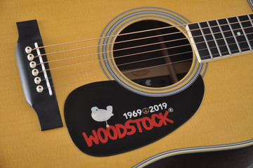 Martin D-35 Woodstock 50th Anniversary Acoustic Guitar #2267961 - Pickguard