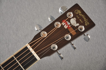 Martin D-35 Woodstock 50th Anniversary Acoustic Guitar #2267961 - Headstock