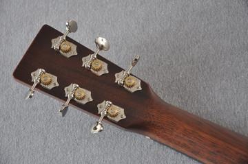 Martin D-18 Standard Ambertone Acoustic Guitar #2243439 - Back Headstock