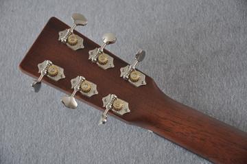 Martin D-18 Standard Ambertone Acoustic Guitar #2243516 - Back Headstock
