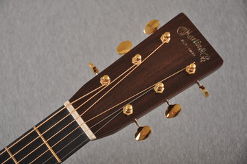 Martin D-28 Modern Deluxe Acoustic Guitar #2282383 - Headstock