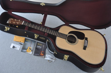 Martin D-28 Modern Deluxe Acoustic Guitar #2247802 - Case