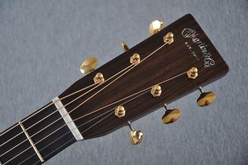 Martin D-28 Modern Deluxe Acoustic Guitar #2247802 - Headstock