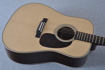 Martin D-28 Modern Deluxe Acoustic Guitar #2247802 - Top Angle