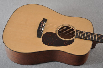 Martin D-18 Modern Deluxe Acoustic Guitar #2271419 - Top Angle