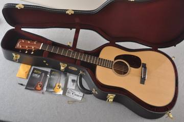 Martin D-18 Modern Deluxe Acoustic Guitar #2271419 - Case
