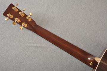 Martin OM-28E Modern Deluxe Fishman Electric Guitar #2345324 - Back Neck