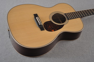 Martin OM-28E Modern Deluxe Fishman Electric Guitar #2345324 - Beauty