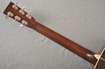 Martin OM-28 Orchestra Model Acoustic Guitar #2354437 - Back Neck