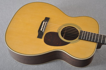 Martin OM-28 Orchestra Model Acoustic Guitar #2354437 - Top Angle