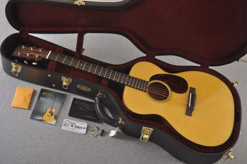 Martin Custom 000 Style 18 Adirondack Acoustic Guitar #2360913 - Case