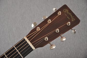 Martin Custom D Style 18 GE Adirondack Waverly #2360914 - Headstock