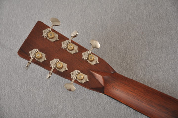 D-28 Standard Dreadnought Acoustic Guitar #2351560 - Back Headstock