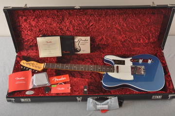 Fender Custom Telecaster Blue 60s American Rosewood Made in USA - View 2