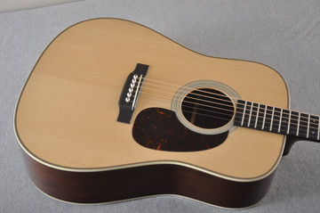 Martin D-28 Authentic 1937 VTS Dreadnought Guitar #2349971 - Top Angle