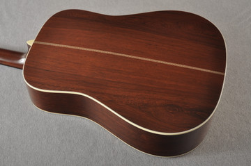 Martin D-28 Authentic 1937 VTS Dreadnought Guitar #2349971 - Back Angle