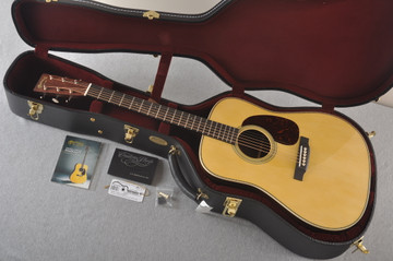 Martin Custom HD Style 28 Marquis GE Adirondack Indian #2371546 - Case