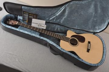 Martin BC-16E RW Acoustic Bass Guitar Sitka Indian #2373685 - Case
