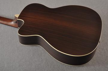 Martin BC-16E RW Acoustic Bass Guitar Sitka Indian #2373685 - Back Angle
