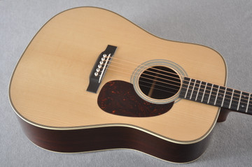 Martin D-28 Authentic 1937 VTS Dreadnought Guitar #2358758 - Top Angle
