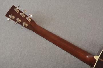 Martin D-28 Authentic 1937 VTS Dreadnought Guitar #2358758 - Back Neck