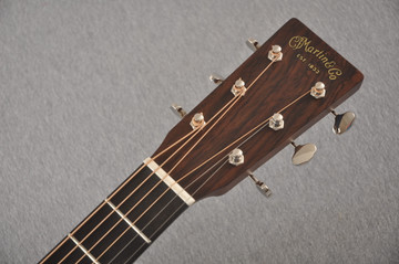 Martin Custom Dread Style 18 Adirondack Sunburst Guitar #2360909 - Headstock