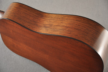 Martin Custom Dread Style 18 Adirondack Sunburst Guitar #2360909 - Side