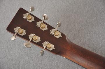 Martin Custom Dread Style 18 Adirondack Sunburst Guitar #2360909 - Back Headstock