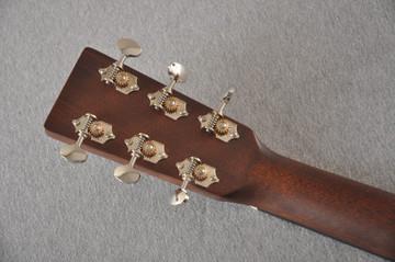 Martin Custom Dreadnaught 18 Style GE Adirondack Waverly #2371542 - Back Headstock