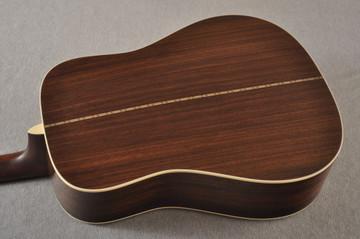 Martin Custom D12 12 String Style 28 Adirondack Sunburst #2372956 - Back Angle