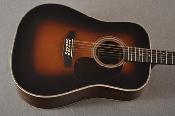 Martin Custom D12 12 String Style 28 Adirondack Sunburst #2372956 - Top