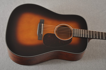 Martin Custom Dread Style 18 Adirondack Sunburst Guitar #2371539 -Top