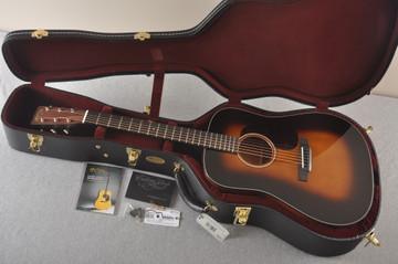 Martin Custom Dread Style 18 Adirondack Sunburst Guitar #2371539 - Case