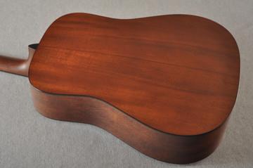 Martin Custom Dread Style 18 Adirondack Sunburst Guitar #2371539 - Back Angle