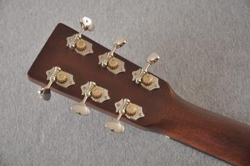 Martin Custom Dread Style 18 Adirondack Sunburst Guitar #2371539 - Back Headstock