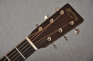 Martin Custom Dreadnaught 18 Style GE Adirondack Waverly #2372949 - Headstock