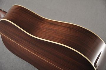 Martin Custom D12 12 String Style 28 Adirondack Ambertone #2371549 - Side