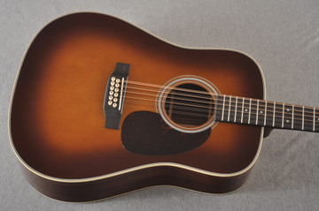 Martin Custom D12 12 String Style 28 Adirondack Ambertone #2371549 - Top