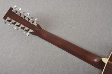 Martin Custom D12 12 String Style 28 Adirondack Ambertone #2371549 - Back Neck