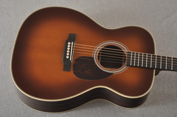Martin OM-28 Ambertone Orchestra Model Acoustic Guitar #2377846 - Top