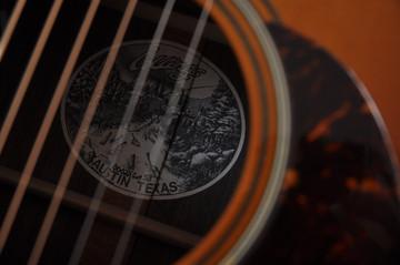 2007 Collings 0002H Cut SB 12 fret Sanns EVO LR Baggs Upgrades #13556 - Label