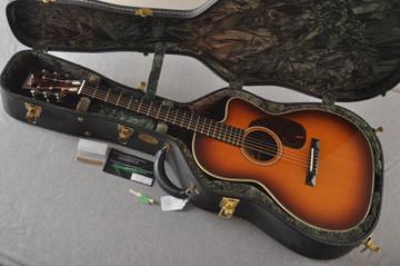 2007 Collings 0002H Cut SB 12 fret Sanns EVO LR Baggs Upgrades #13556 - Case