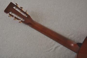 Martin Custom 000 Style 18 GE 12 Fret Adirondack Sunburst #2346032 - Back Neck