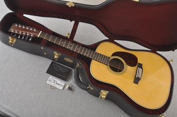 Martin Custom D12 12 String Style 28 Adirondack #2388894 - Case
