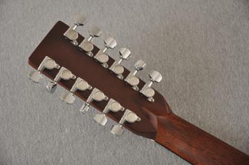 Martin Custom D12 12 String Style 28 Adirondack #2388894 - Back Headstock