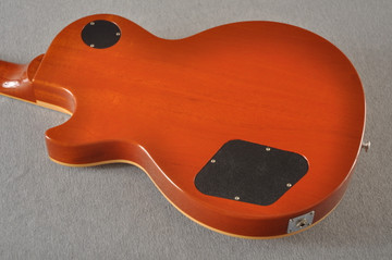 2016 Gibson Les Paul Standard Flame Top Amber #160065316 - Back